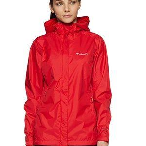 COLUMBIA Omni Tech Waterproof Rain Jacket